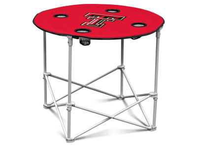 Texas Tech Red Raiders Logo Brands Round Folding Table
