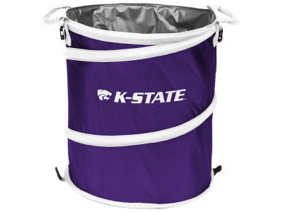 Kansas State Wildcats Logo Brands Collapsible 3-in-1 Cooler V