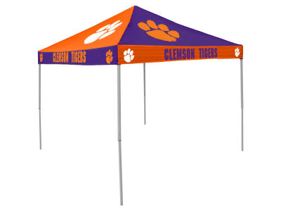 Clemson Tigers Logo Brands Checkerboard Tent