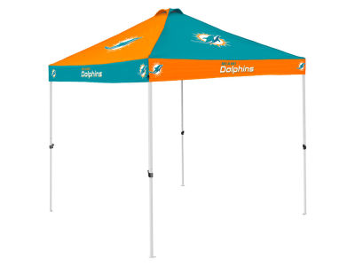 Miami Dolphins Logo Brands Checkerboard Tent