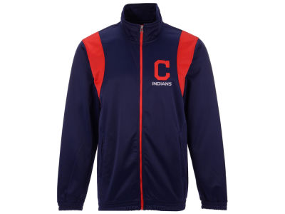Cleveland Indians G-III Sports MLB Men's Clutch Track Jacket