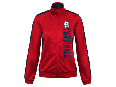 St. Louis Cardinals G-III Sports MLB Women's Outfield Track Jacket