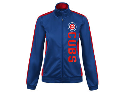 Chicago Cubs G-III Sports MLB Women's Outfield Track Jacket