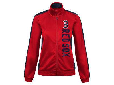 Boston Red Sox G-III Sports MLB Women's Outfield Track Jacket