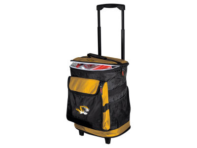 Missouri Tigers Logo Brands Rolling Cooler V
