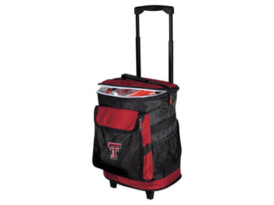 Texas Tech Red Raiders Logo Brands Rolling Cooler V
