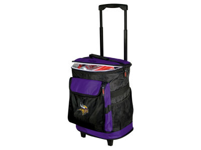 Minnesota Vikings Logo Brands Rolling Cooler V