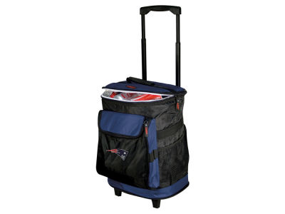 New England Patriots Logo Brands Rolling Cooler V