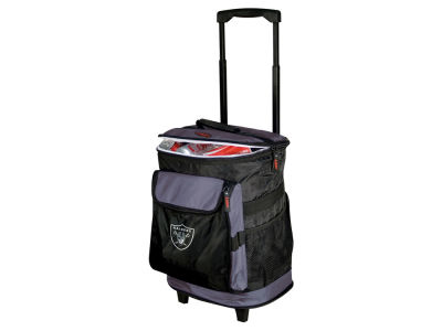 Oakland Raiders Logo Brands Rolling Cooler V