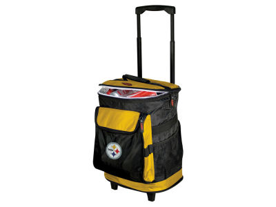 Pittsburgh Steelers Logo Brands Rolling Cooler V