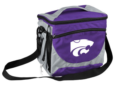 Kansas State Wildcats Logo Brands 24 Can Cooler
