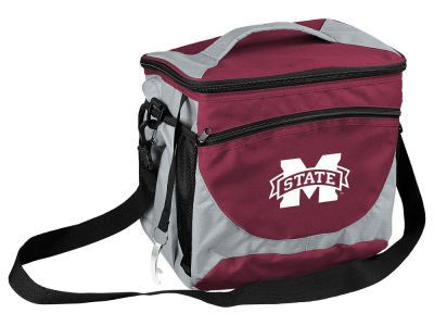 Mississippi State Bulldogs Logo Brands 24 Can Cooler