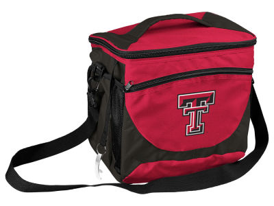 Texas Tech Red Raiders Logo Brands 24 Can Cooler