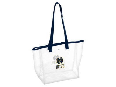 Notre Dame Fighting Irish Logo Brands Stadium Clear Tote