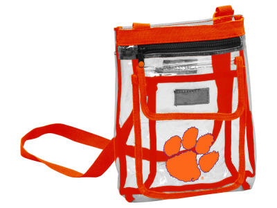 Clemson Tigers Logo Brands Gameday Clear Crossbody