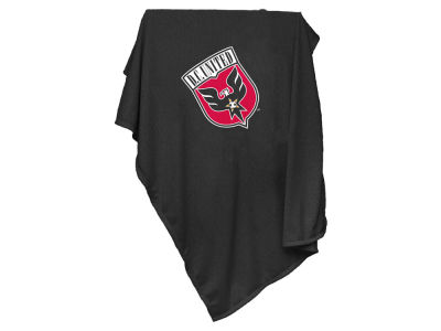 DC United Logo Brands Sweatshirt Blanket