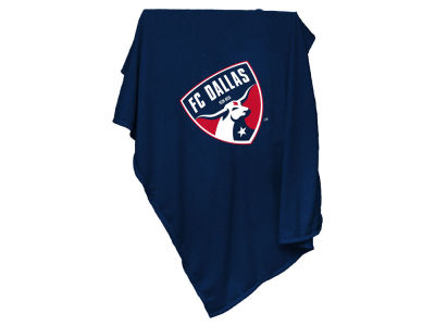 FC Dallas Logo Brands Sweatshirt Blanket