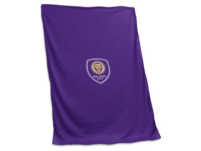 Orlando City SC Logo Brands Sweatshirt Blanket