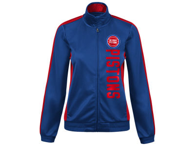 Detroit Pistons G-III Sports NBA Women's Backfield Track Jacket