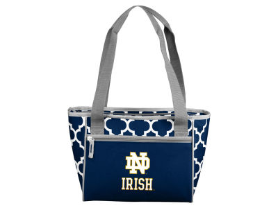 Notre Dame Fighting Irish Logo Brands 16 Can Cooler Tote
