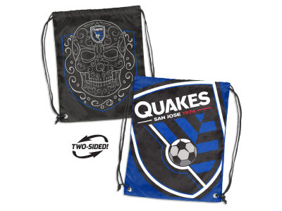 San Jose Earthquakes Logo Brands Doubleheader Backsack