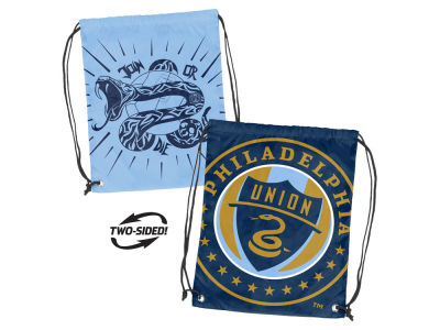 Philadelphia Union Logo Brands Doubleheader Backsack