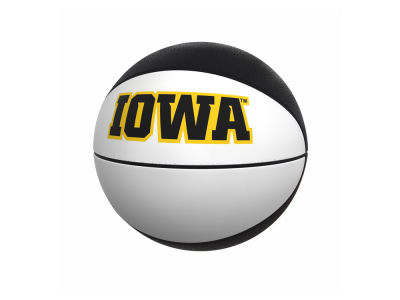 Iowa Hawkeyes Logo Brands Official-Size Autograph Basketball