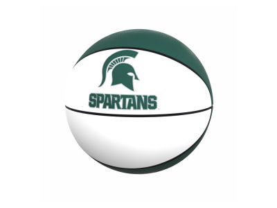 Michigan State Spartans Logo Brands Official-Size Autograph Basketball