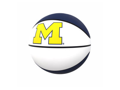 Michigan Wolverines Logo Brands Official-Size Autograph Basketball