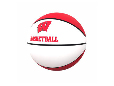 Wisconsin Badgers Logo Brands Official-Size Autograph Basketball