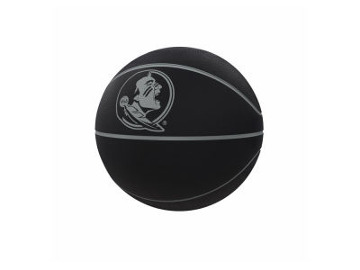 Florida State Seminoles Logo Brands Blackout Full-Size Composite Basketball
