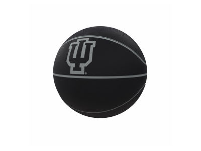 Indiana Hoosiers Logo Brands Blackout Full-Size Composite Basketball