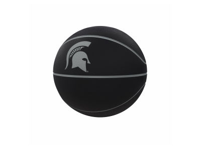 Michigan State Spartans Logo Brands Blackout Full-Size Composite Basketball