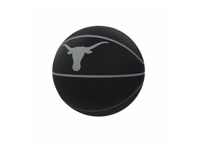 Texas Longhorns Logo Brands Blackout Full-Size Composite Basketball