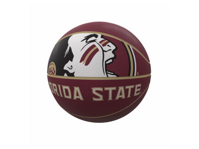 Florida State Seminoles Logo Brands Mascot Official-Size Rubber Basketball
