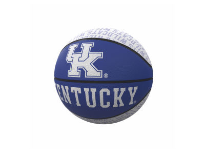 Kentucky Wildcats Logo Brands Repeating Logo Mini-Size Rubber Basketball