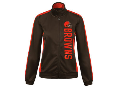 Cleveland Browns G-III Sports NFL Women's Backfield Track Jacket