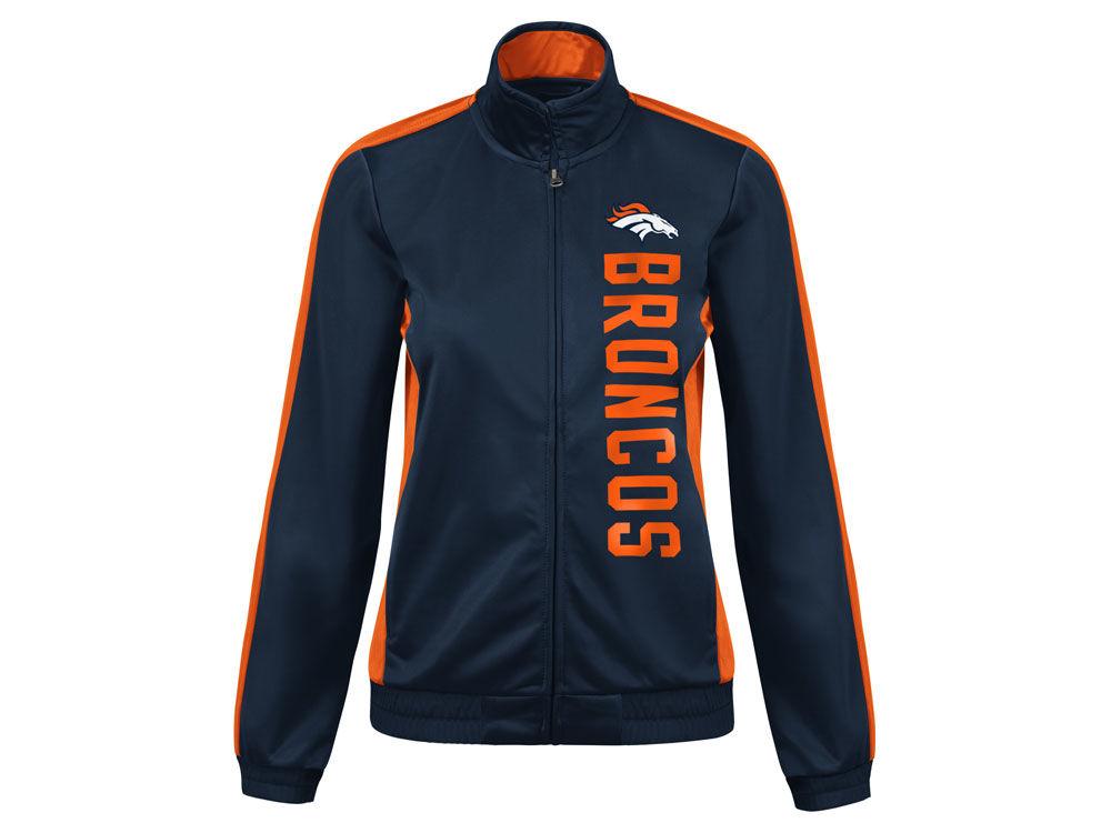 Denver Broncos G-III Sports NFL Women s Backfield Track Jacket ... 99d51fb1b