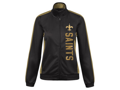New Orleans Saints G-III Sports NFL Women's Backfield Track Jacket