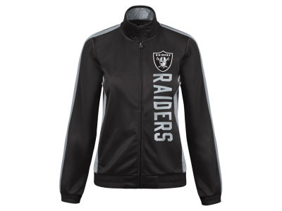 Oakland Raiders G-III Sports NFL Women's Backfield Track Jacket