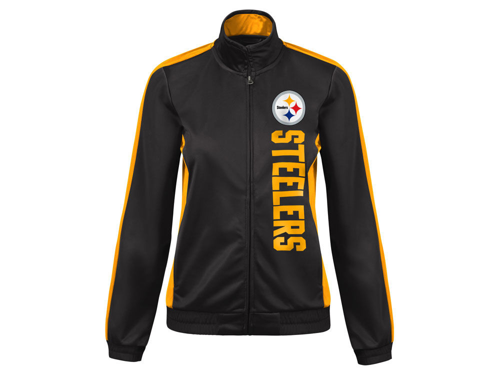 Pittsburgh Steelers G-III Sports NFL Women s Backfield Track Jacket ... cce0cbab6