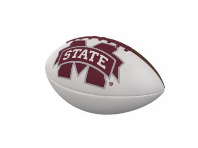 Mississippi State Bulldogs Logo Brands Official-Size Autograph Football V
