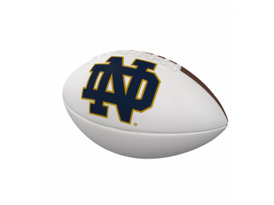 Notre Dame Fighting Irish Logo Brands Official-Size Autograph Football V