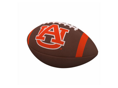 Auburn Tigers Team Stripe Official-Size Composite Football