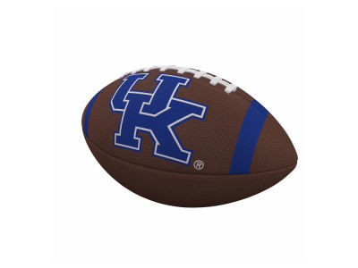 Kentucky Wildcats Logo Brands Team Stripe Official-Size Composite Football