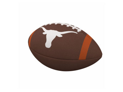 Texas Longhorns Logo Brands Team Stripe Official-Size Composite Football