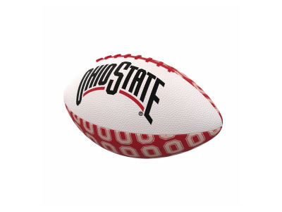 Logo Brands Repeating Mini-Size Rubber Football
