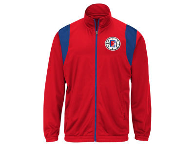 Los Angeles Clippers G-III Sports NBA Men's Clutch Time Track Jacket