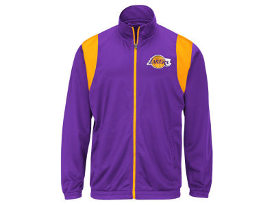 Los Angeles Lakers G-III Sports NBA Men's Clutch Time Track Jacket
