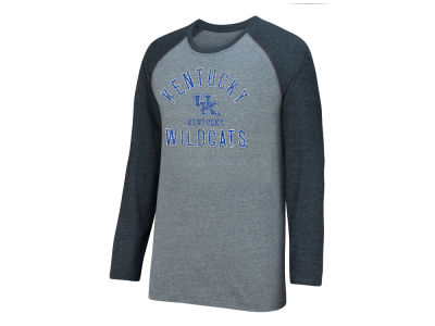 Kentucky Wildcats Top of the World NCAA Men's Triple A Raglan T-Shirt